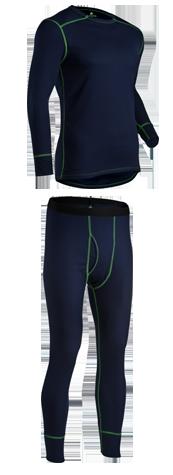Indera Mens Mesh Knit Performance Thermal Underwear Pants with Silvadur